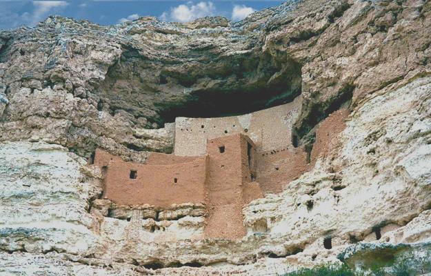Montezuma Castle Camp Verde Arizonia