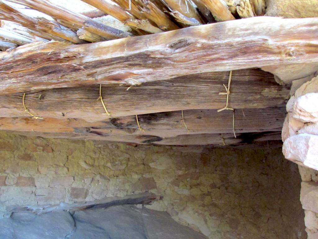 Cedar Mesa's Sheik Canyon Fibrous Roof Ties -