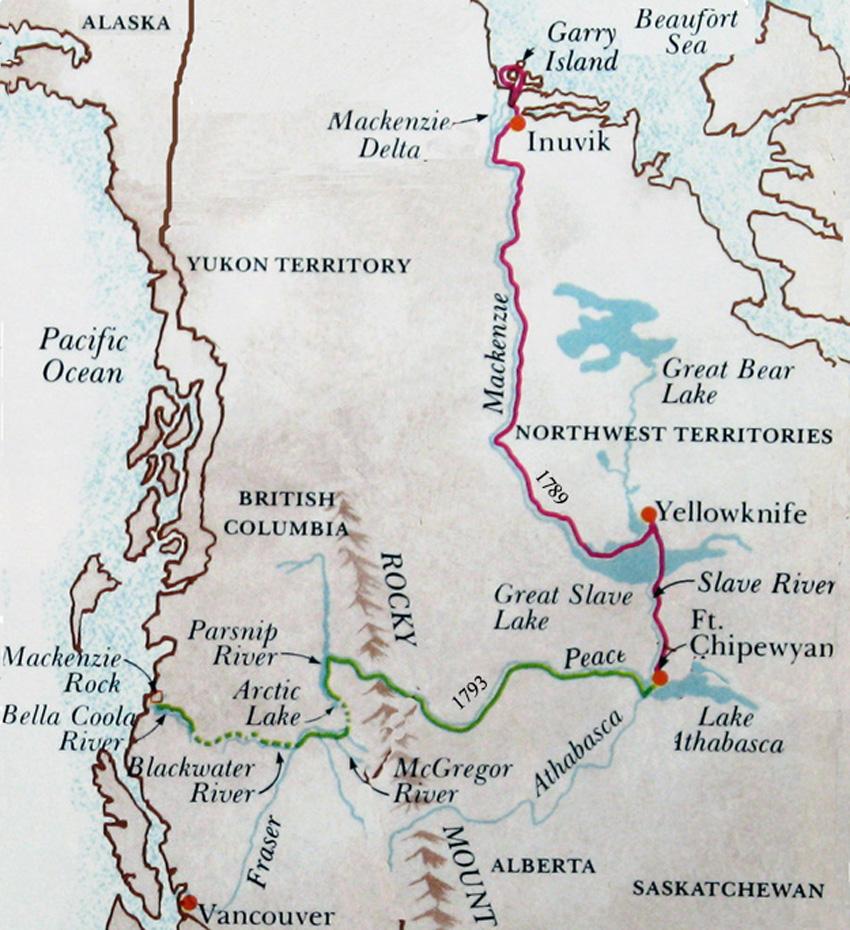 Alexander Mackenzie 1789-1793