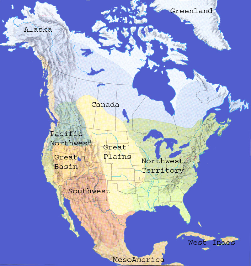 North America Territories
