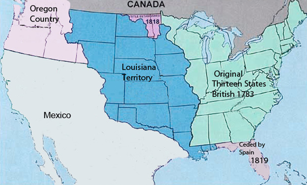 Territorial Expansion 1821