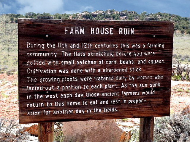 Farm House Irrigation Sign