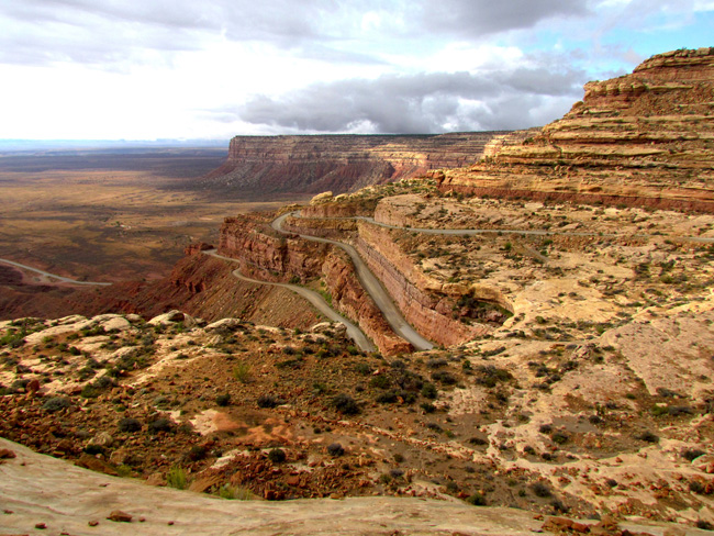 Moki Dugway to Valley of the Gods