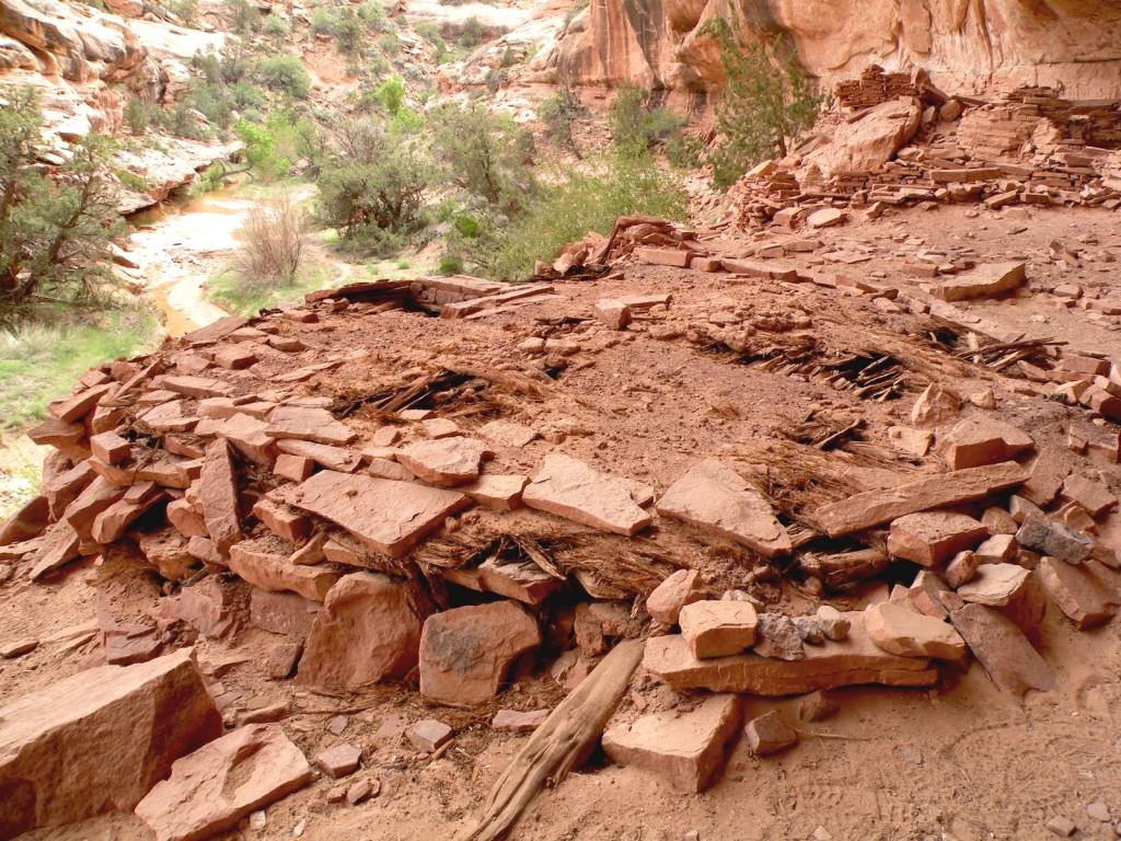 Road Canyon seven Kiva Ruins