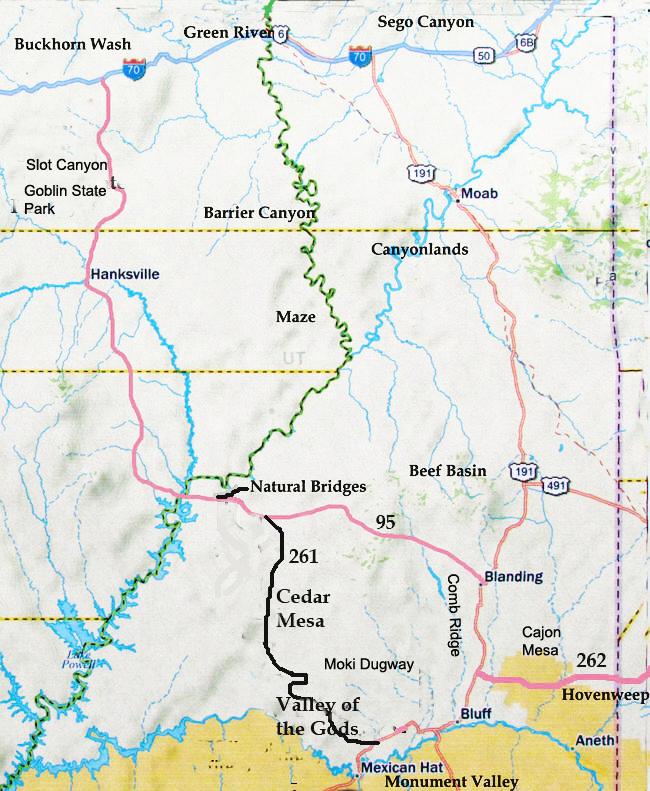 Southerneastern Utah Sites