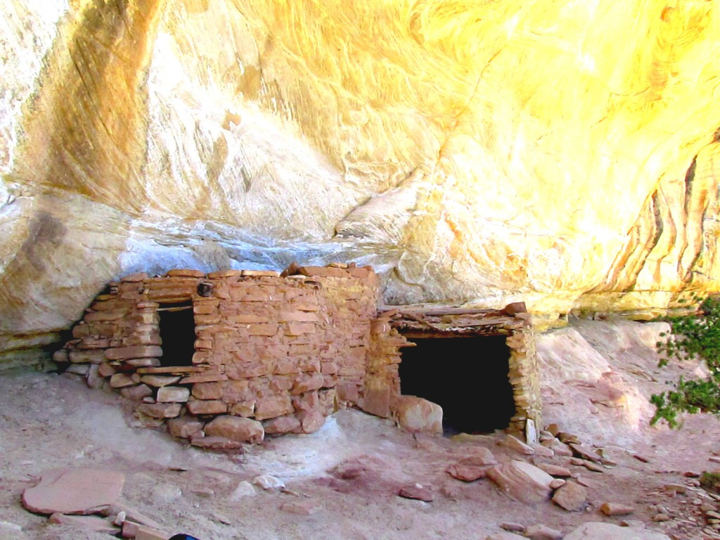 Shiek Canyon Yellow House Ruins