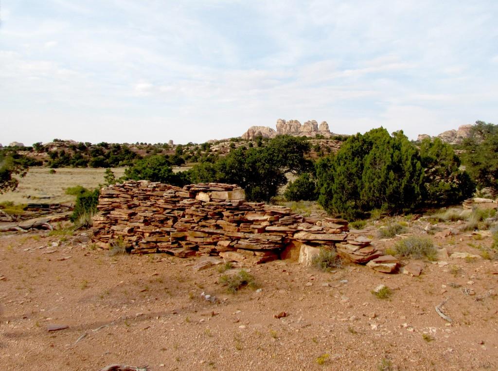 Anasazi Ruin Wall Beef Basin