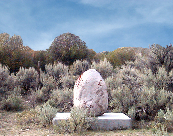 Fort Bonneville Monument