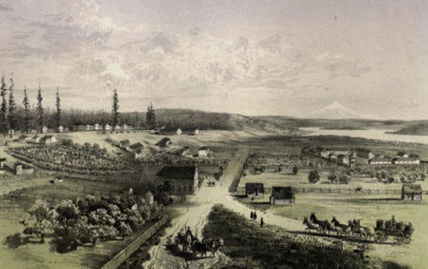 Fort Vancouver 1829