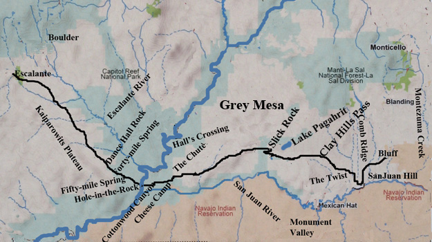 Hole in the Rock American Western Expansion