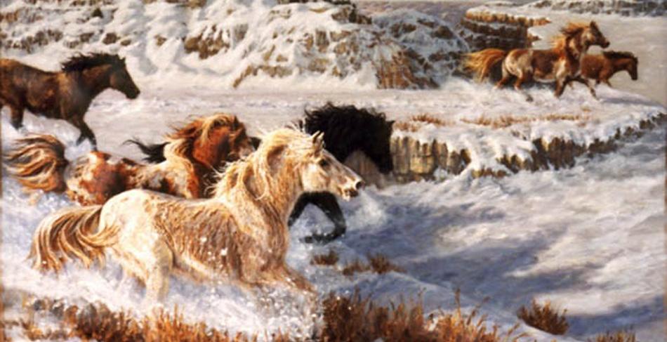 horses extinct in north america pdf