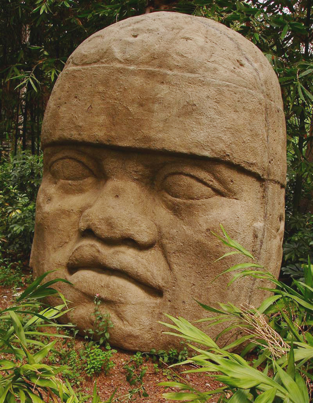 ME-Olmec-head