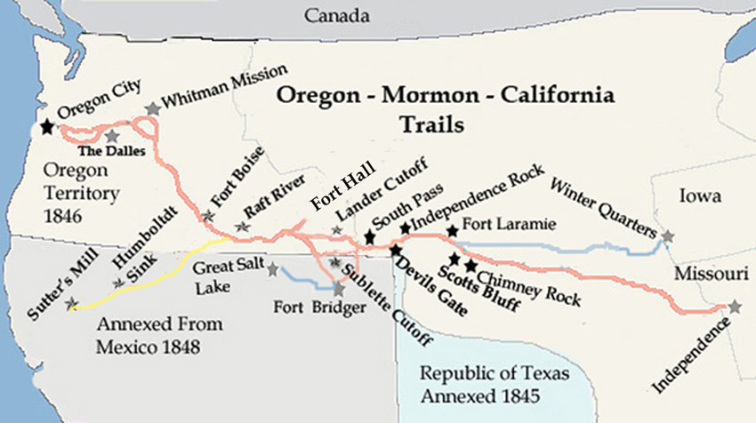 OT-Oregon Mormon Trail
