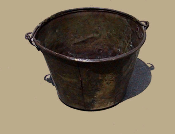 brass bucket