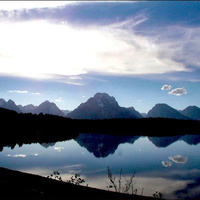 Mount Moran - Jackson Lake