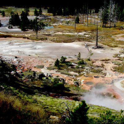 Yellowstone Mud Pots